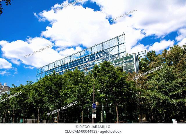 Cartier Foundation, Montparnasse, Paris, France, Western Europe