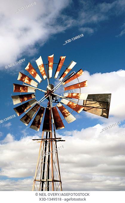 Rusting windpump