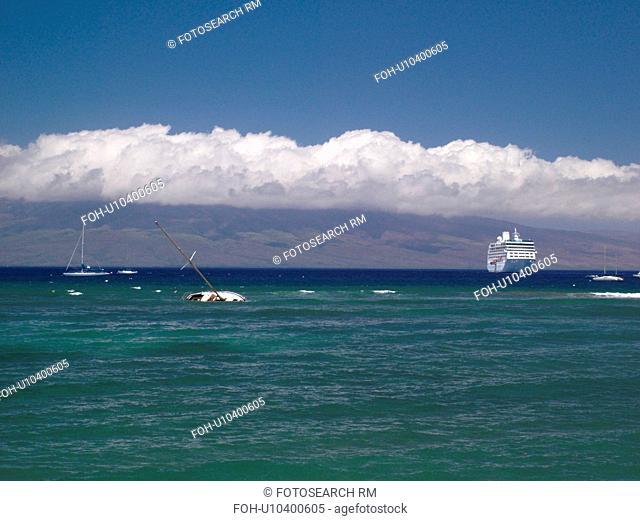 Lahaina, Maui, HI, Hawaii, West Maui, Auau Channel