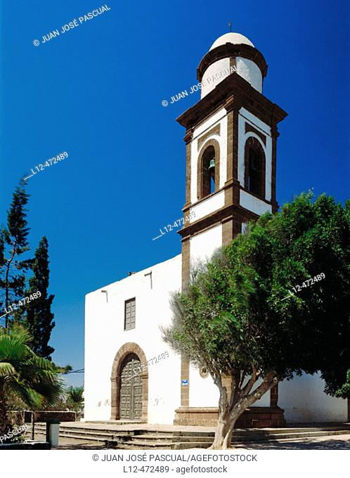 Church, Antigua. Fuerteventura, Canary Islands. Spain