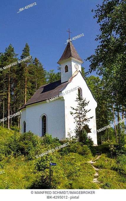 Dietl Chapel, Hinterstoder, Totes Gebirge, Upper Austria, Austria
