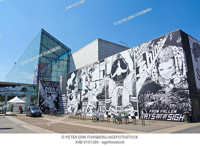 Musee d'Art Moderne et Contemporain, MAMCS, museum of modern and contemporary art, Strasbourg, Alsace, France