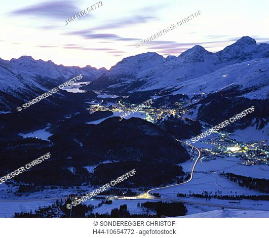 10654772, alpine, Alps, mountains, Celerina, Switzerland, Europe, Engadine, canton Graubünden, Grisons, Switzerland, Europe, s