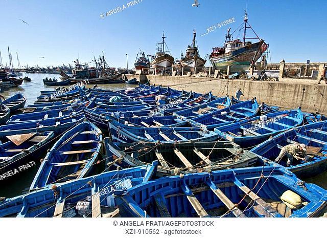 Harbour, Essaouira, Morocco