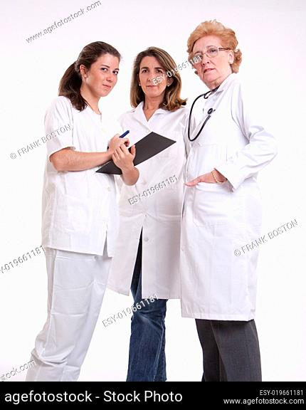 Female medical staff