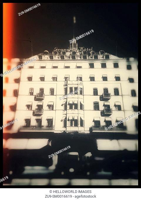 Five star Grand Hotel opened in 1874, Stockholm, Sweden, Scandinavia