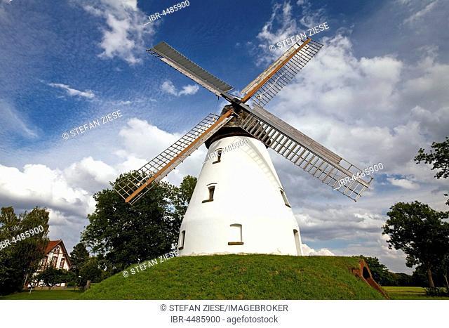 Windmill Heimsen, Westphalian Mill Street, Peter Hagen, North Rhine-Westphalia, Germany