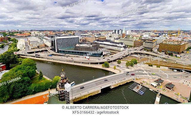 Modern City, Stockholm, Sweden, Scandinavia, Europe