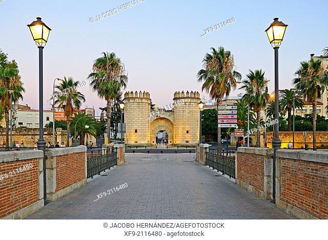 Puerta de Palmas.Badajoz.Estremadura.Spain