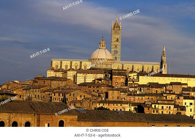 Skyline and Cathedral, Sienna, Tuscany, Italy