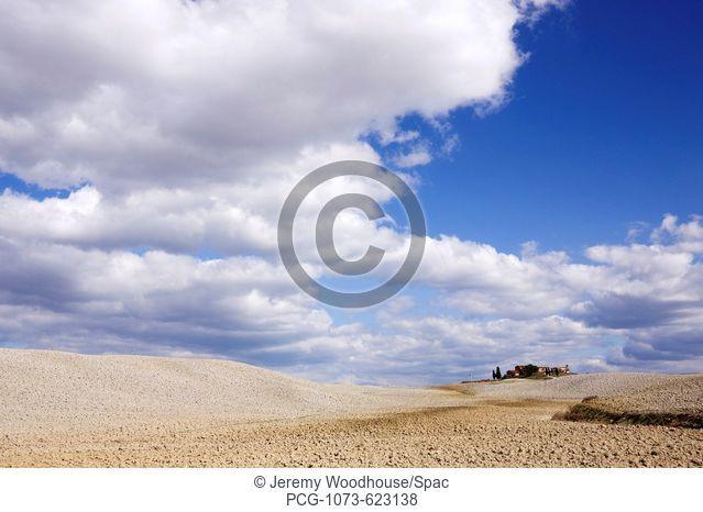Desert Landscape in La Crete Sinesi