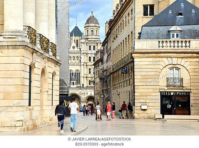 Saint-Michel church, Place de la Liberation, Dijon, Côte d'Or, Burgundy Region, Bourgogne, France, Europe