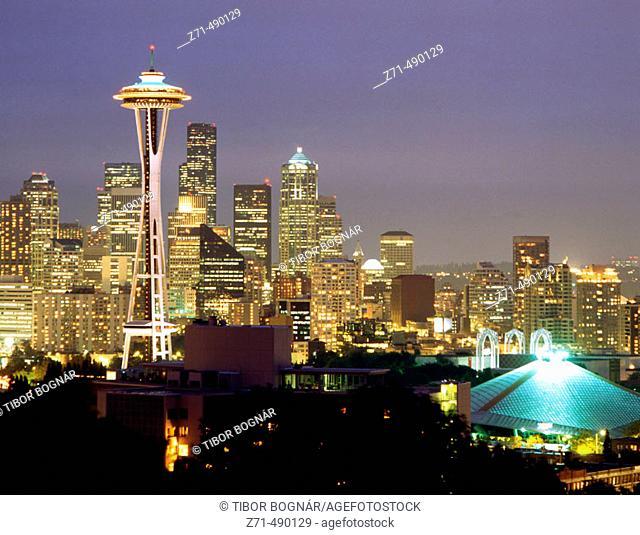 Seattle skyline. Washington, USA