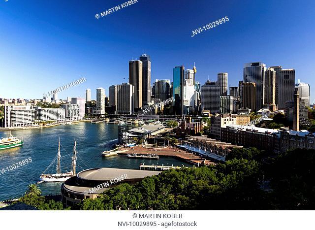 Skyline of Sydney, Australia