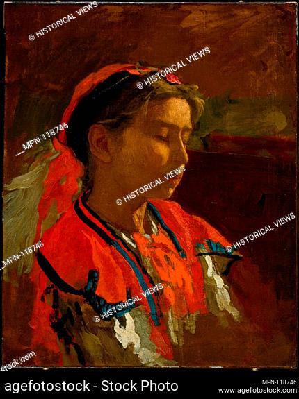 Carmelita Requena. Artist: Thomas Eakins (American, Philadelphia, Pennsylvania 1844-1916 Philadelphia, Pennsylvania); Date: 1869; Medium: Oil on canvas;...