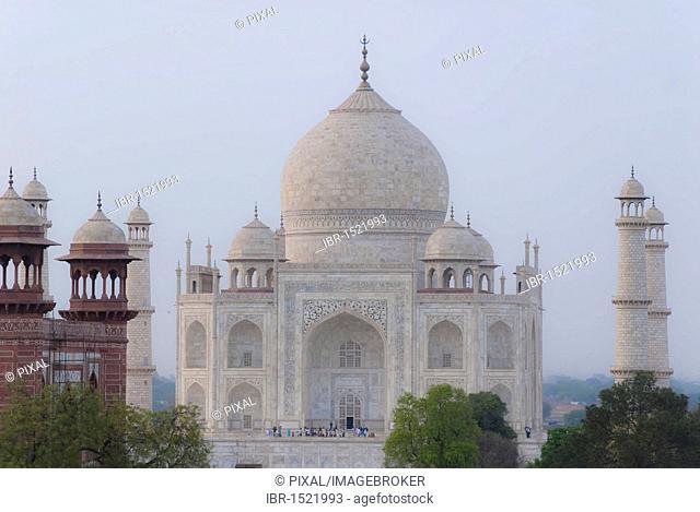 Taj Mahal, Agra, Uttar Pradesh, India, Asia