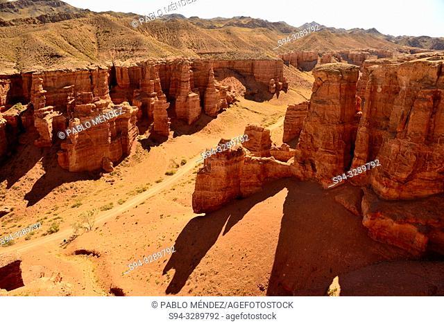 Charyn Canyon landscape, Kazakhstan
