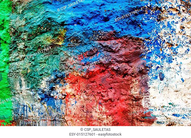 Background of rough surface wall various colors