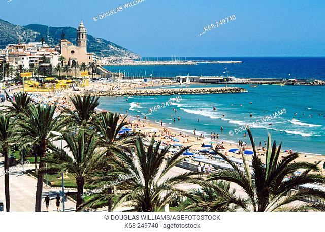 Sitges. Barcelona province. Catalonia. Spain
