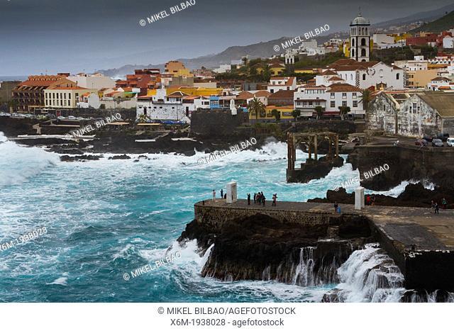 Garachico. Tenerife, Canary Islands, Atlantic Ocean, Spain