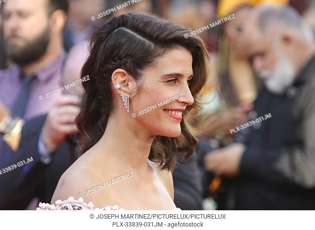 """Cobie Smulders at Columbia Pictures' and Marvel Studios' """"""""Spider-Man Far From Home"""""""" World Premiere held at the TCL Chinese Theatre in Hollywood, CA, June 26"""