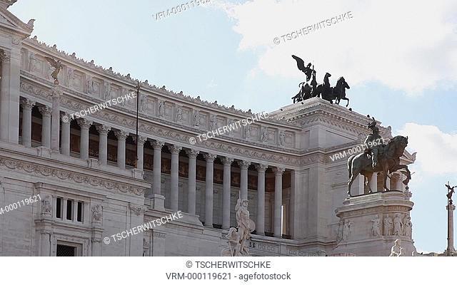 Monumento Vittorio Emanuele II, Rome, Italy, Europe