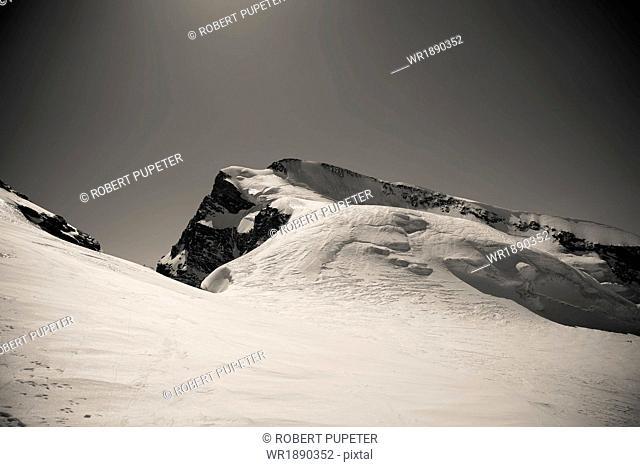 Mountain scenery, Mount Strahlhorn, Valais, Switzerland