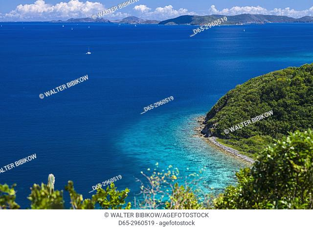 U. S. Virgin Islands, St. John, Friis Bay, waterfront