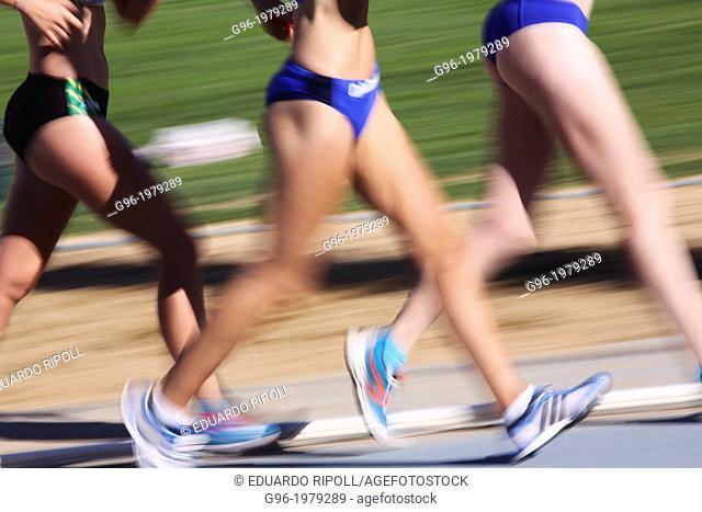 Race walk women