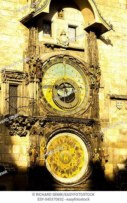 Horloge at Old Town Square, Prague, Czech Republic