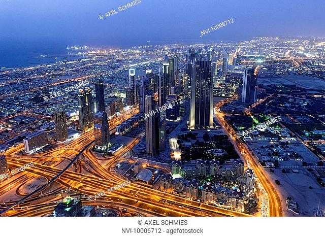 Dubai Financial District, Sheikh Zayed Road, Dubai, UAE