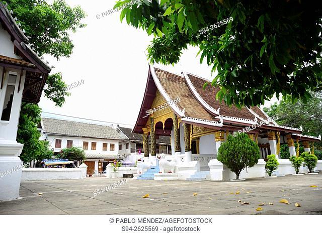 Wat Souvannakhili of Luang Prabang, Laos