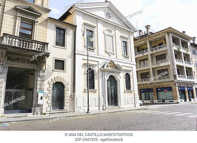 Udine Friuli-Venecia Julia Italy on April 22, 2019