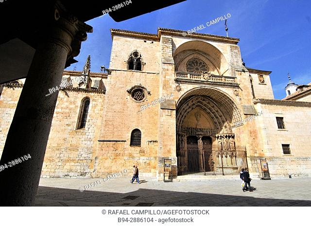 Cathedral, Burgo de Osma, Soria province, Castilla-Leon, Spain