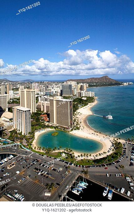Hilton Hawaiian Village, Waikiki, Honolulu, Oahu, Hawaii, USA