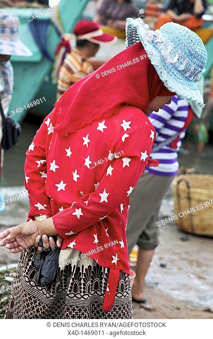 Cambodia, Kampot, capital of Kampot Province in southern Cambodia