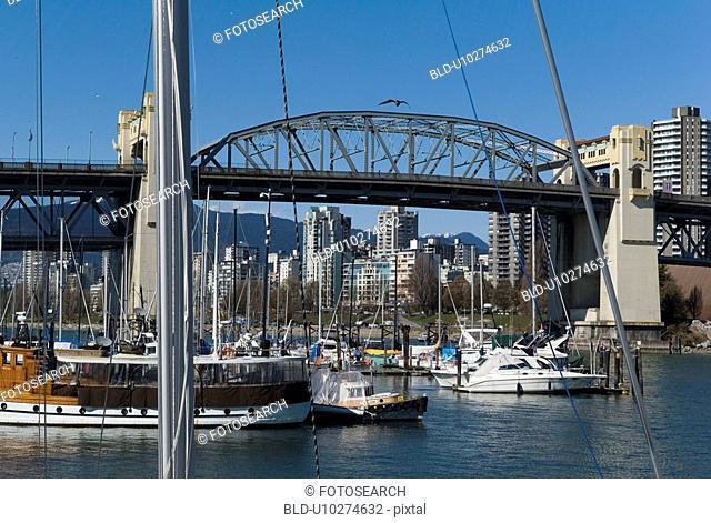 Scenice view of Grandville Street bridge