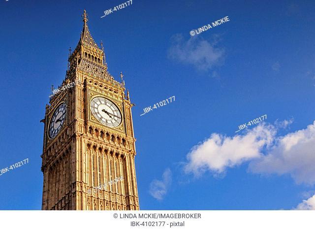 Big Ben, Westminster, London, England, United Kingdom