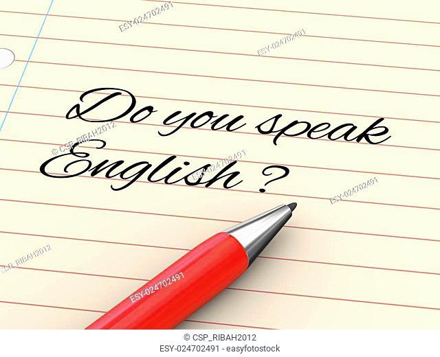 3d pen on paper - do you speak enlish