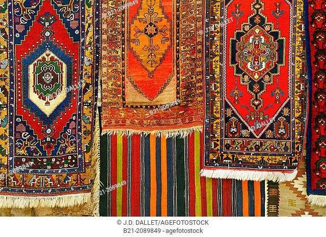 Kilim and Turkish carpets, Cappadocia, Turkey