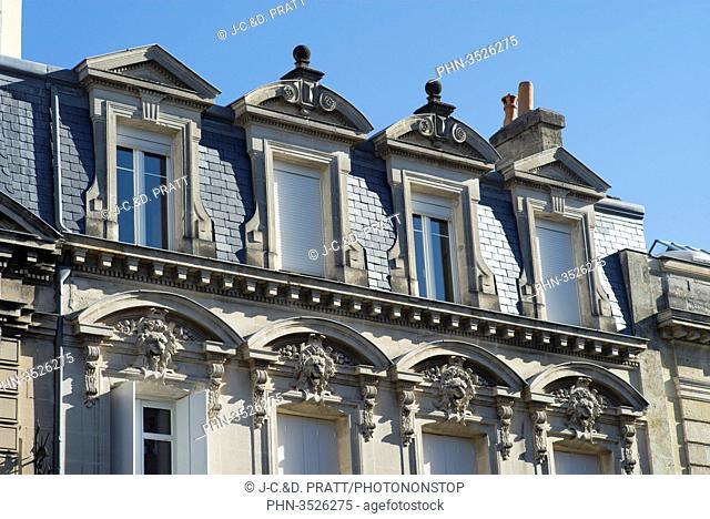 France, South-Western France, Talence, Saint-Genes district