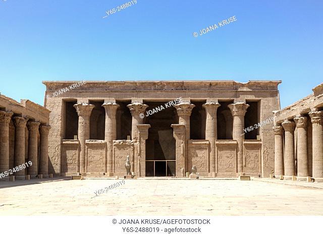 Temple of Edfu, Egypt, Africa