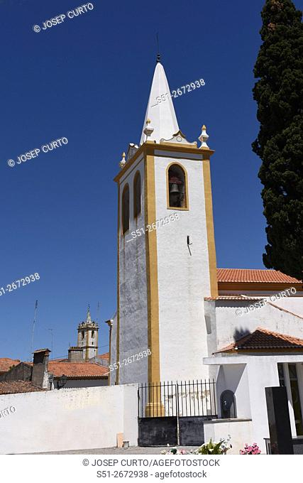 Church of Crato, Alentejo region, Portugal