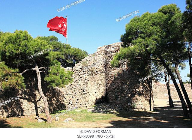 Kadifekale fortress izmir turkey
