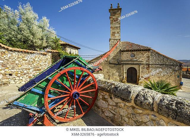 San Gil Church. Atienza village. Guadalajara, Castilla-La Mancha, Spain, Europe