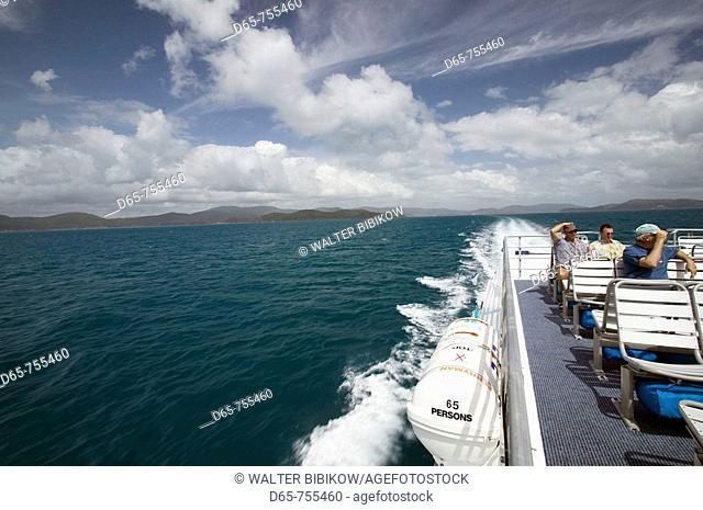 Australia - Queensland - Whitsunday Coast - Hamilton Island: Aboard the Hamilton Island Ferry