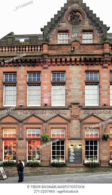 UK, Scotland, Edinburgh, The Scotch Whisky Experience,