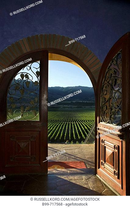 Doorway Hacienda Vina Santa Cruz Winery Colchagua Valley Chile