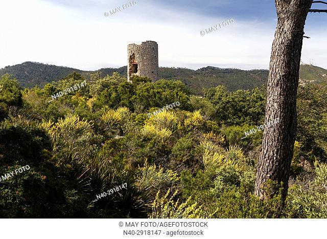 Montornes castle, Miravet valley, Castellon, Benicassim