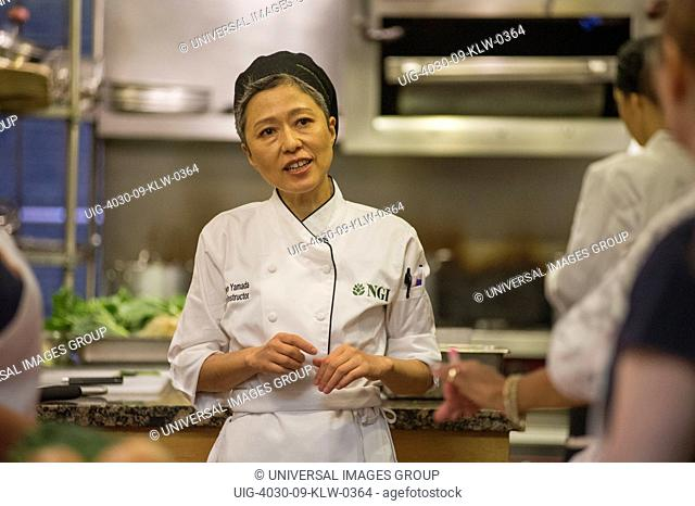 Chef Teaching Cooking Class